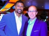 Barry Spencer with Jalen Rose